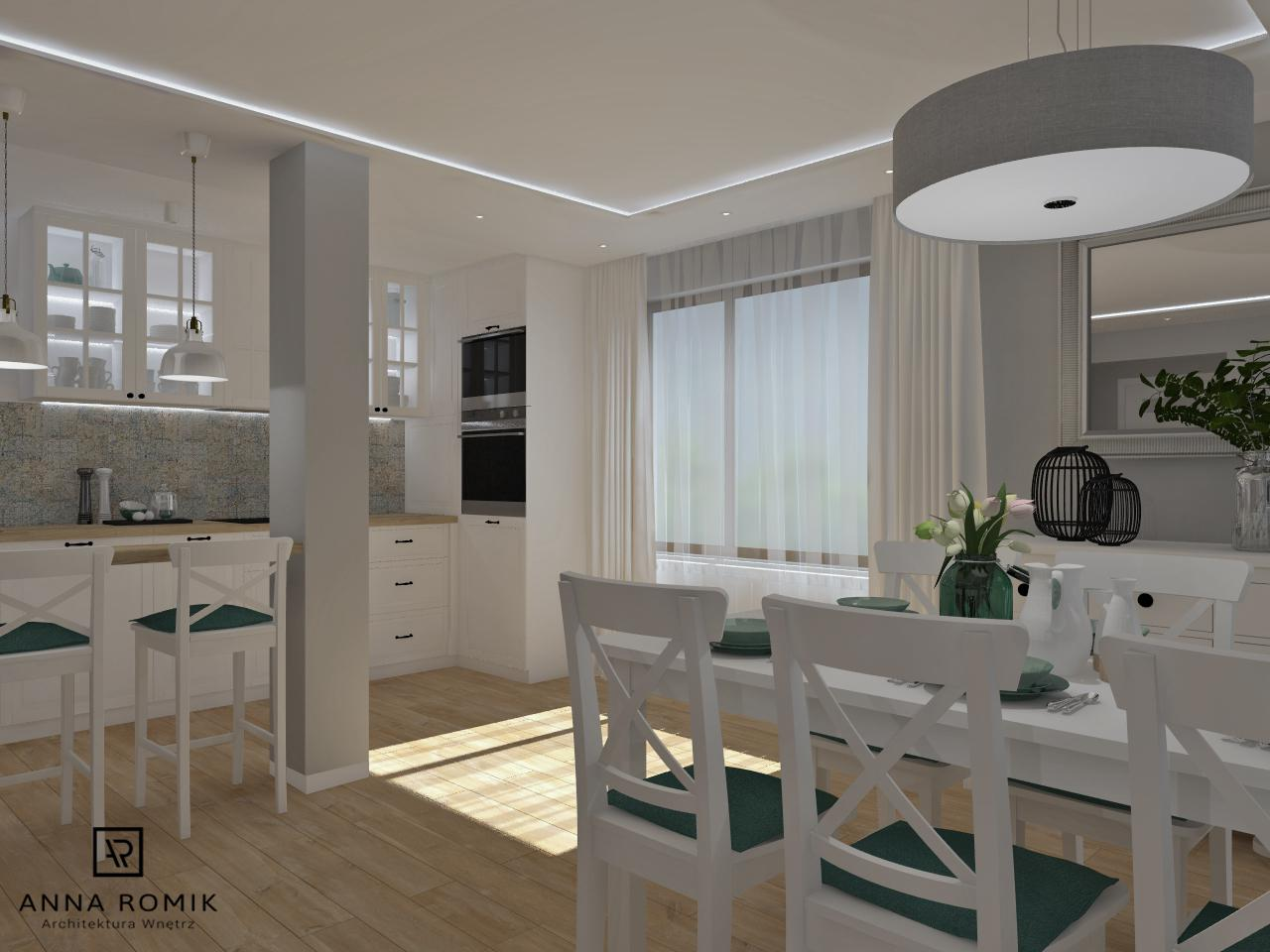 Salon Z Kuchnią Sułkowice 40 M2